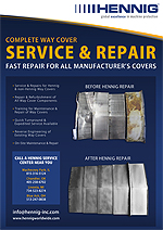 Hennig Service and Repair for Manufacturers Covers